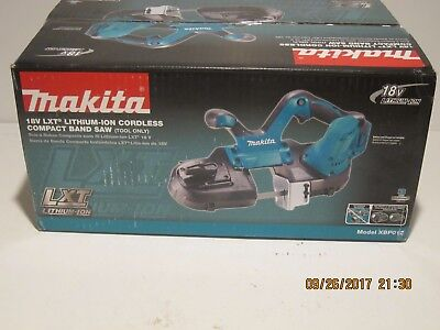 Makita XBP01Z Compact Bandsaw-Tool only- Cordless 18V LXT Band Saw. F/SHIP NISB!