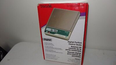 NEW! Taylor TE22FT 22 lb. Digital Portion Control Scale FREE SHIPPING
