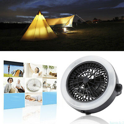 Multifunctional Outdoor Portable Camping Hiking LED Fan hot sale