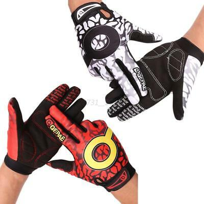 MTB Cycling Gloves Full Finger Mountain Bike Bicycle Glove GEL Padded Shockproof