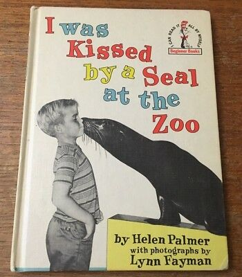 I was Kissed by a Seal at the Zoo Helen Palmer I Can Read It Beginner Books 1962