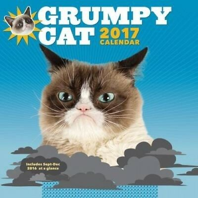 2017 Wall Calendar: Grumpy Cat: 2017 by Chronicle Books.