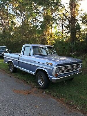 1969 Ford F-100  1969 Ford F100