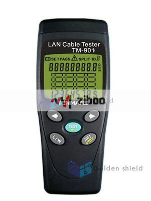 Tenmars TM901  LAN Cable Tester  LAN cable (UTP, STP),cable.  New