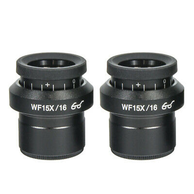 Einstellbares WF15X / 16MM 30mm High Point Widefield Stereo Mikroskop Okular