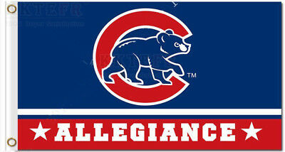 Chicago Cubs World Series Champions flag 3x5FT Banner MLB
