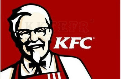 NEW RED KFC flag, KFC banner Flags FOR KFC flags 3X5 ft