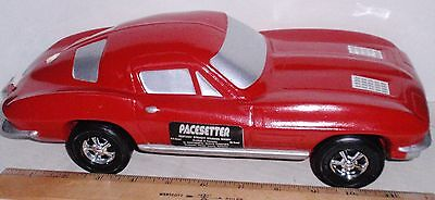 1963 Red Corvette Coupe Decanter Pacesetter Bottle Empty 63 Chevy