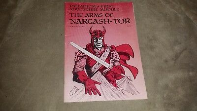 Dungeons & Dragons - Palladium's First Adventure Module The Arms of Nargash-Tor