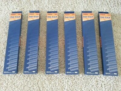 LOT of 6 Finetrack TOMIX 1092, S280 Straight Track (10 pcs) - N Scale
