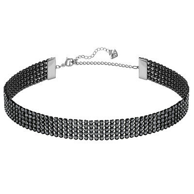 NEW Swarovski Fit Grey Choker