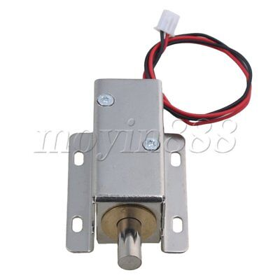 DC24V Electric Lock Assembly Solenoid Lock for File Cabinet Drawer Door