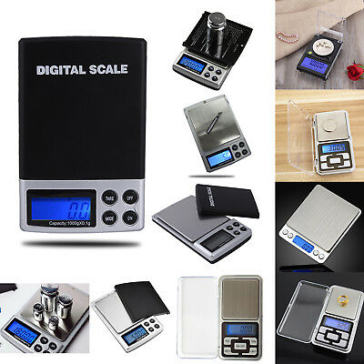 Portable Mini Digital LCD Jewelry Gold Silver Balance Weight Pocket Scale Herbs