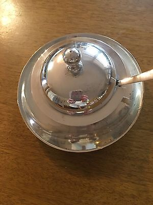 1930s Silver Jam Dish