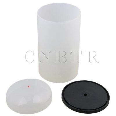 Anti-Dust Seamless Enameled PVC D15xH28cm Winder Wire Cover w/ Pedestal