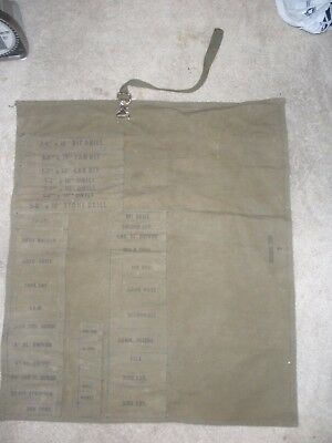 VINTAGE BELL SYSTEM CANVAS TOOL BAG WRAP ,.Rare