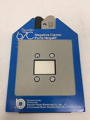 Beseler #6737 35mm Film Negative Carrier for 67C In Mint Condition