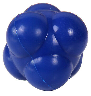 Spartan Training Sports Goods Rubberized Bounce Six-Sided Blue Reaction Ball