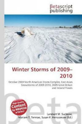 Winter Storms of 2009 - 2010  1105