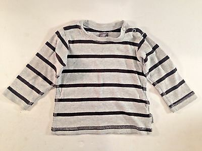 LOGG H&M 9-12M Long Sleeve Striped Unisex Shirt EXCELLENT CONDITION!!!