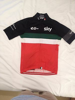 Rapha men's Team Sky Italy cycle jersey, medium, A+ condition