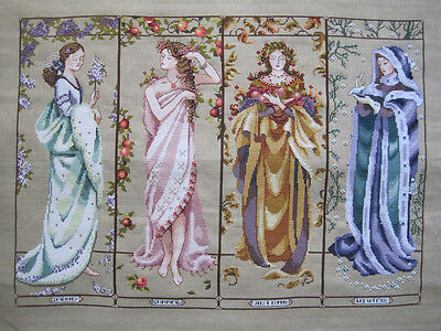 Maidens Of The Season - Cross Stitch Chart - Free Postage