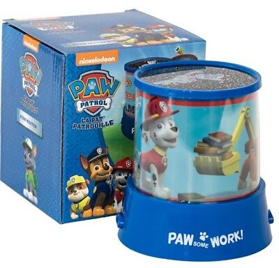 New Paw Patrol Blue Colour Changing Projection Led Star Master Light