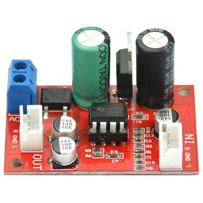 NE5532 Stereo Pre-amp magnetic head Phono amplifier board Moving Coil MicroZ6L5