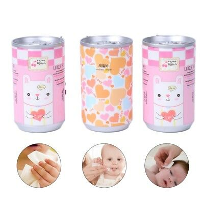 30Sheets Creative Kids Baby Mini Wet Paper Wipes For Home Travel Use Convenient