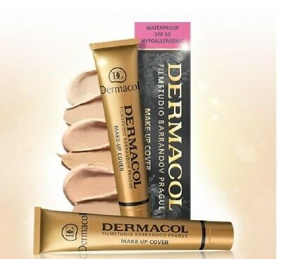 Dermacol High Cover Make Up Foundation Legendary Film Studio Hypoallergenic Bnib