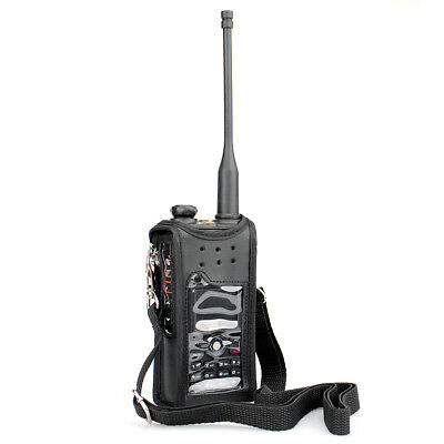 Radio Holsters Walkie Talkie Bag Case for Retevis RT82, TYT MD-2017 UK Local