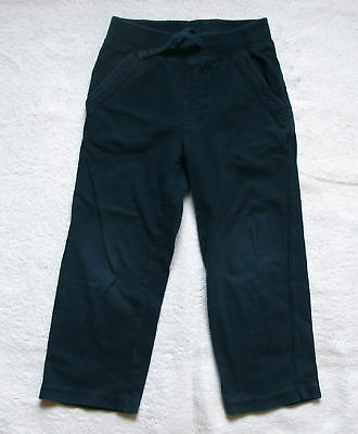 Boys Toddler Baby Gap navy blue cotton pants size 4 years 4T