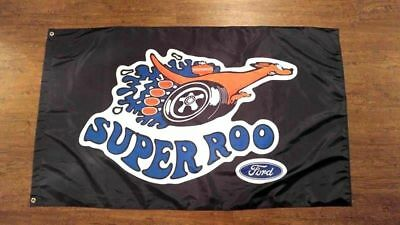 Large 150cm*90cm FORD SUPER ROO FLAG BANNER 3X5FT F100 ECONOLINE CLASSIC