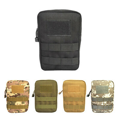 1000D Cordura Molle Utility First Aid Drop Pouch Tactical Hunting Waist Bag
