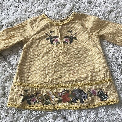 Next Girls Top Blouse Age 2-3 Years