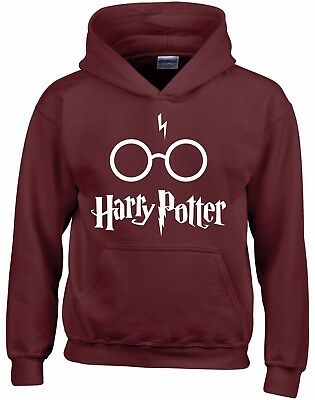Harry Potter With Glasses And Scar Kids Hoodie