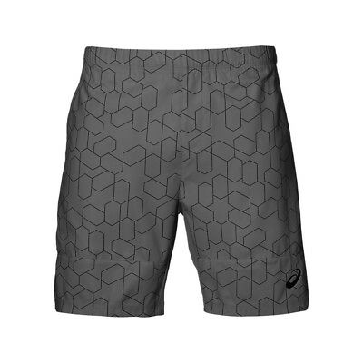 Asics Mens Club GPX 7 inch Tennis Training Shorts - NEW - *Sizes S - XL*