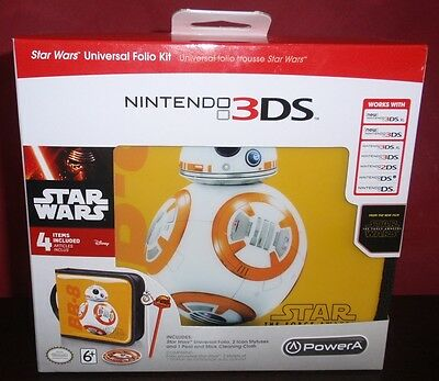 Star Wars Nintendo 3DS, 2DS, DS Universal Folio Kit BRAND NEW
