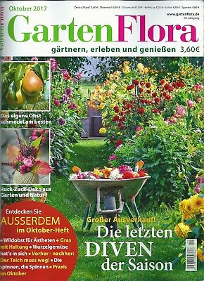 zeitschrift mein sch ner garten oktober 2017 europas. Black Bedroom Furniture Sets. Home Design Ideas