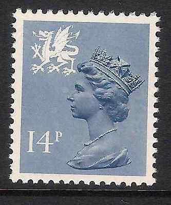 Wales 1981 W39 14p litho phosphorised paper perf. 14 type I Regional Machin MNH