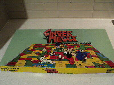 Ginger Meggs The Paper Chase 1970's board game