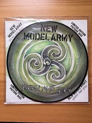 New Model Army - Green And Grey (Vinyl) Limited Edition Picture Disc RARE