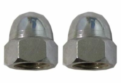 5 x Nuts Chrome Acorn 10mm
