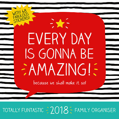 Happy Jackson Family Planner Official 2018 Calendar - NEW  (SKU 228)
