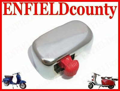 New Chrome Plated 12V Vespa Trafficator, Blinker, Indicator, Signal Switch @aus