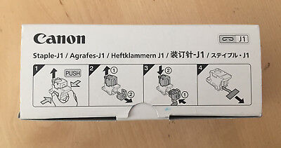 Genuine Canon Staple Cartridges - J1 (Box of 3) / 6707A001(AC) 65010927