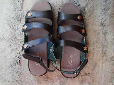 Womens Leather Sandals