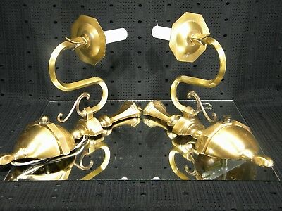 Vintage Art Deco PAIR of Wall Sconces