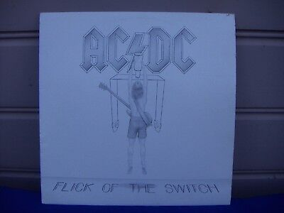 AC/DC Flick Of The Switch Australian 1st pressing vinyl LP record ALBERTS RED AP