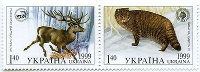 UKRAINE 1999 ** MNH Stamps Animals